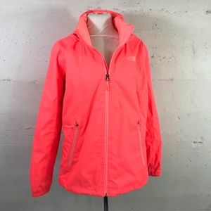 The North Face Dryvent Steezy Coral Zip Up Rain Jk